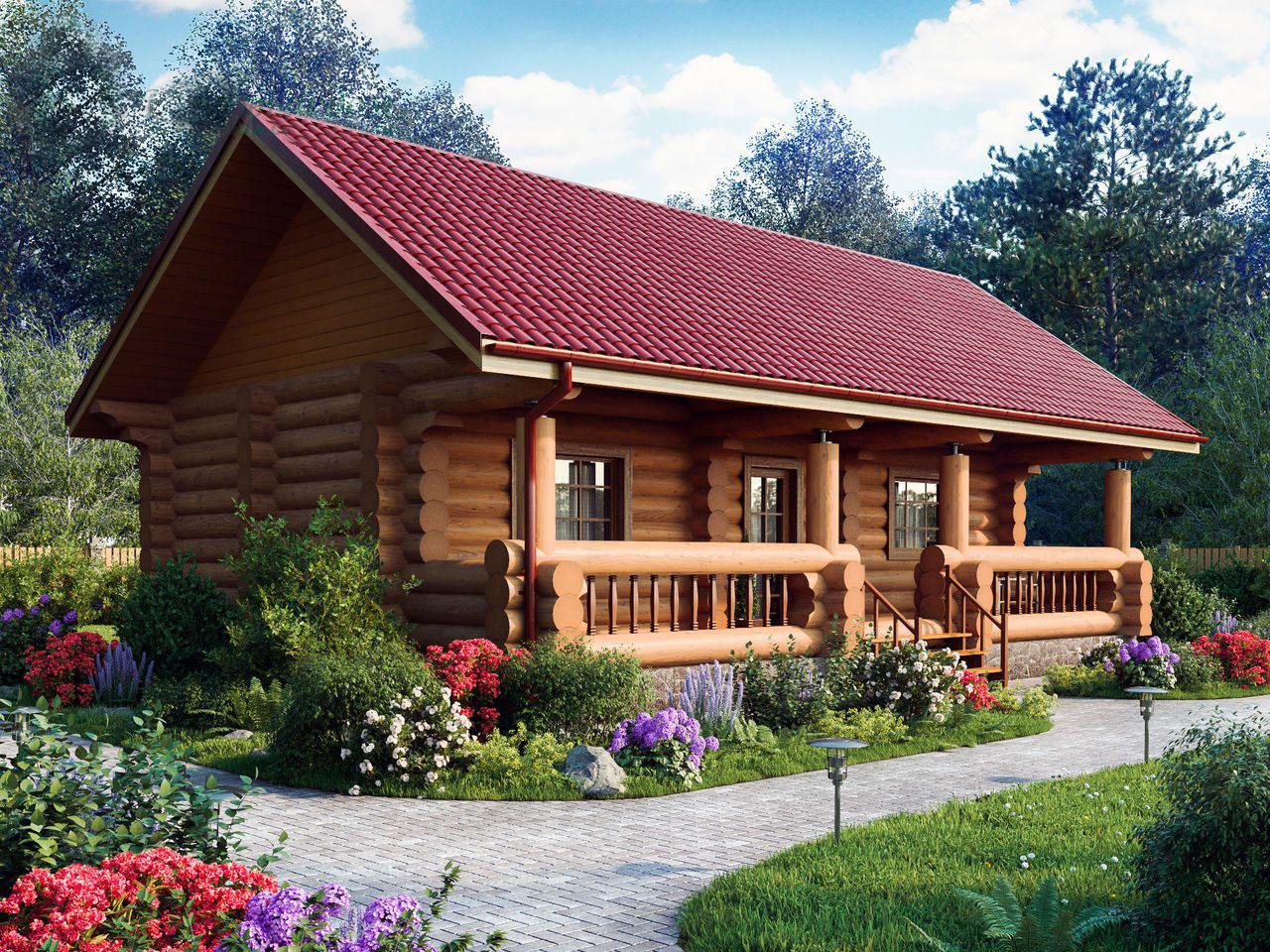 6 критериев выбора проектов деревянных бань [+7 фото]