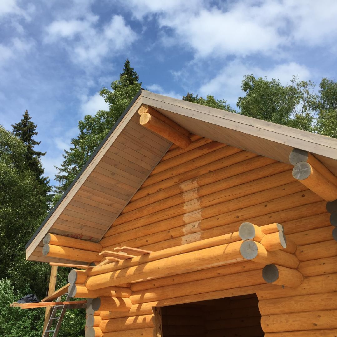 Крыша бани (плоская, двускатная): инструкция по возведению