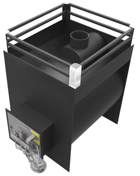 Печь для бани на газу своими руками из металла: чертежи, фото, видео пошаговая инструкция