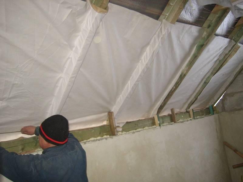 Утепление крыши бани своими руками: каким способом