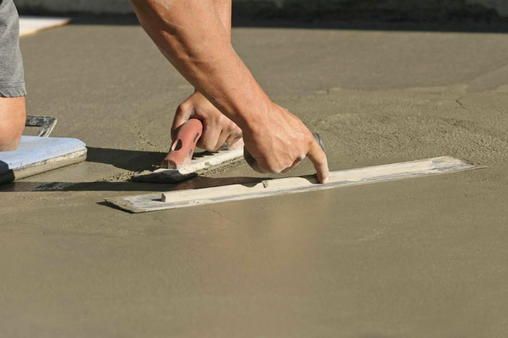 Железнение бетона своими руками: как правильно сделать