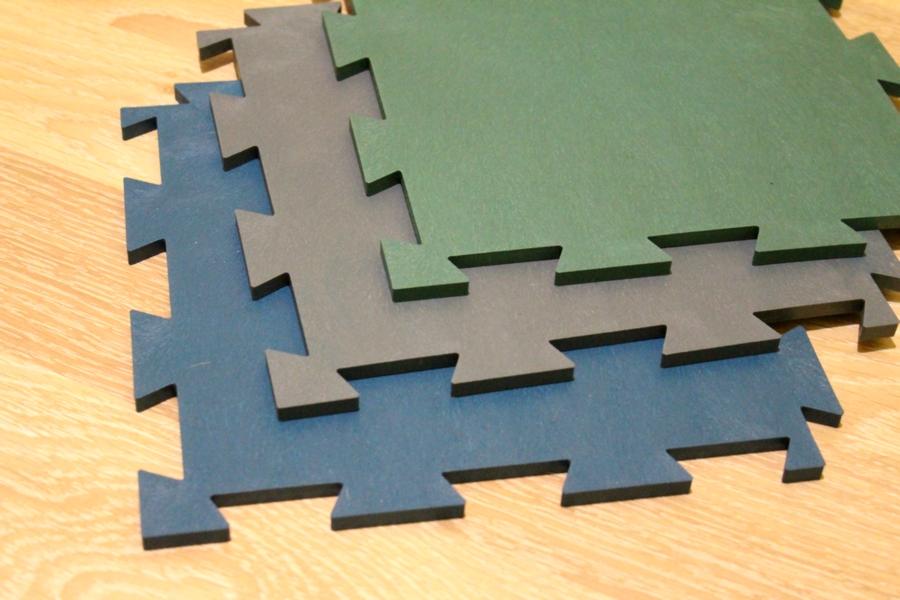 Модульные промышленные напольные покрытия