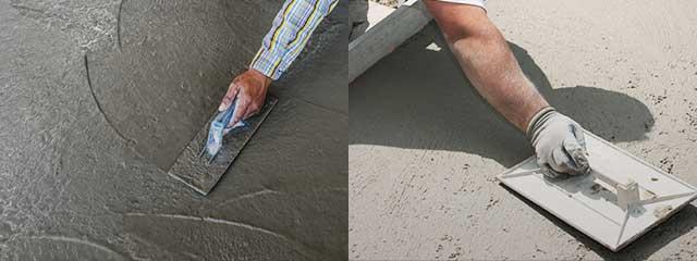 Железнение бетона своими руками (фото и видео)