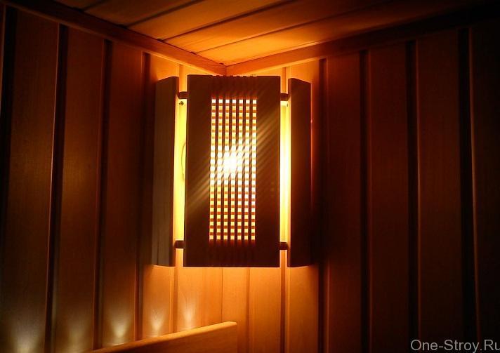 Нужны ли особые светильники для парной русской бани?