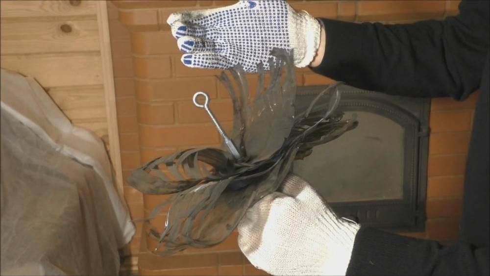 Чистка дымохода в бане своими руками: лучшие способы + профилактика налета сажи