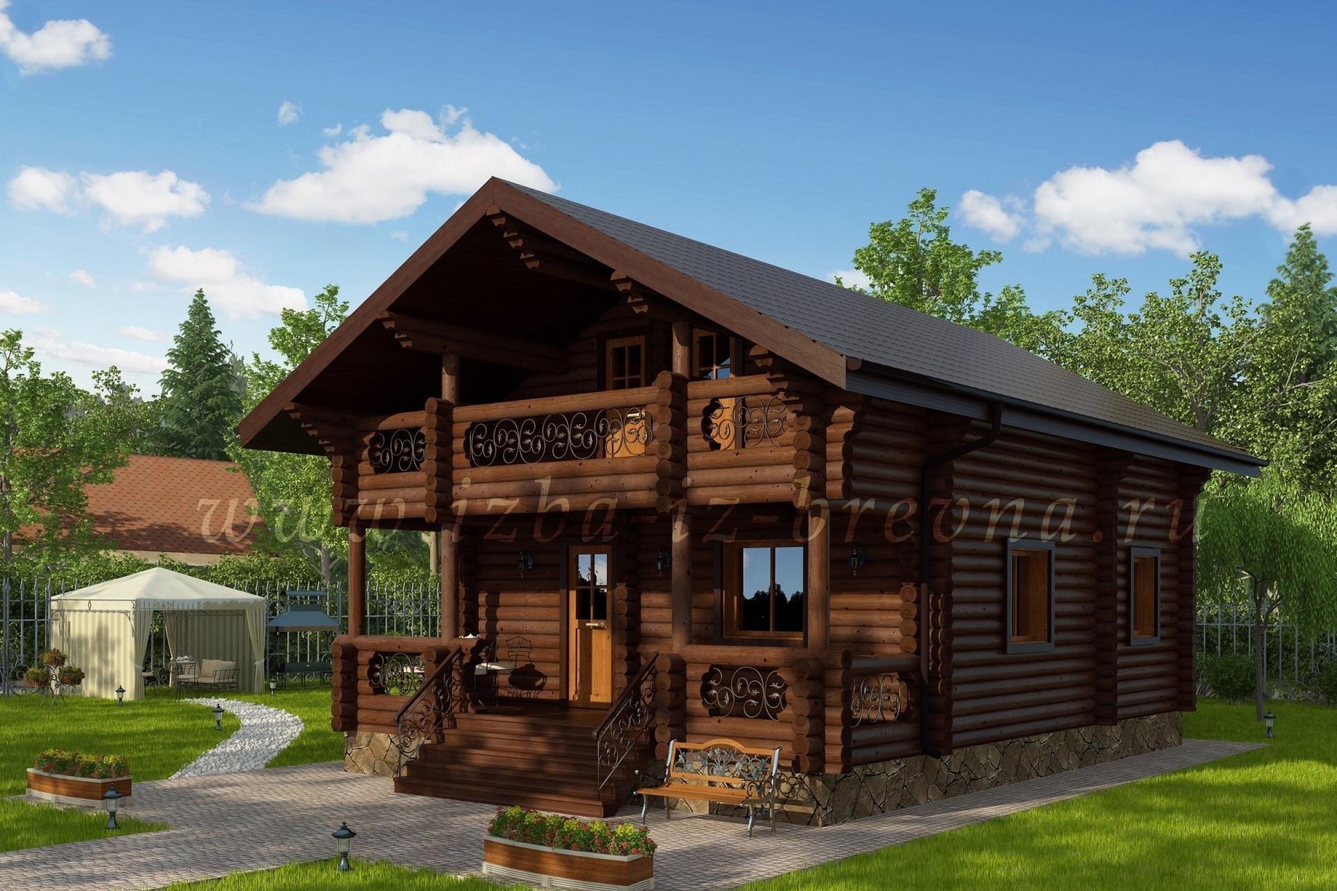 Лучшие типовые проекты деревянных бань — строительство бани
