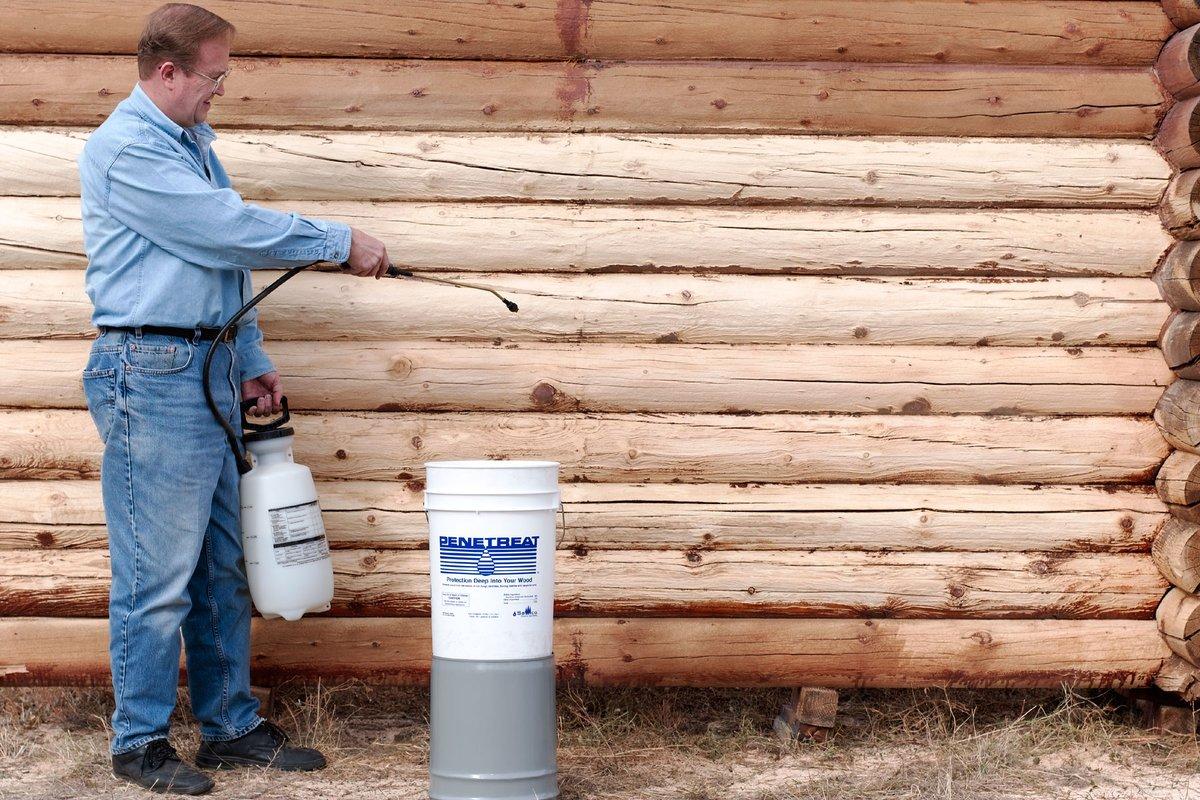 Чем обработать дерево для защиты от гниения и влаги