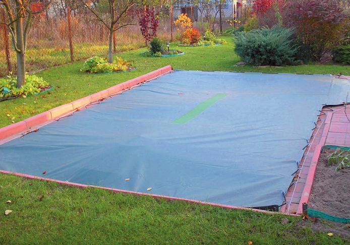 Как подготовить и где хранить зимой каркасный бассейн?