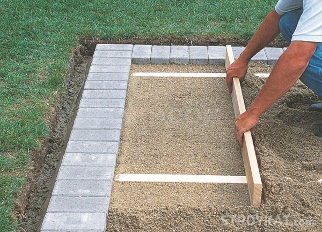 Видео укладки тротуарной плитки своими руками — пошаговая инструкция и советы специалистов