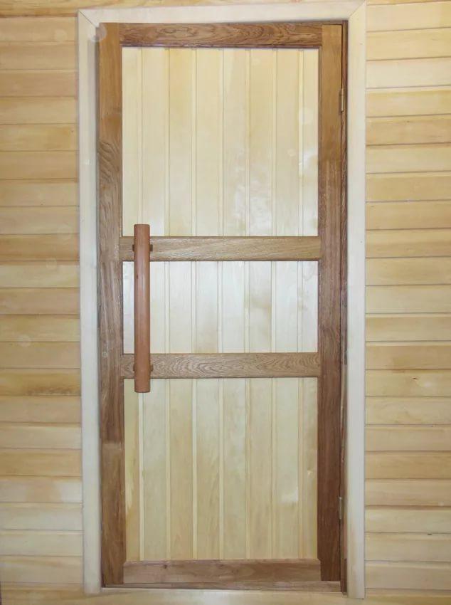 10+ рекомендаций по выбору двери в баню [+видео]