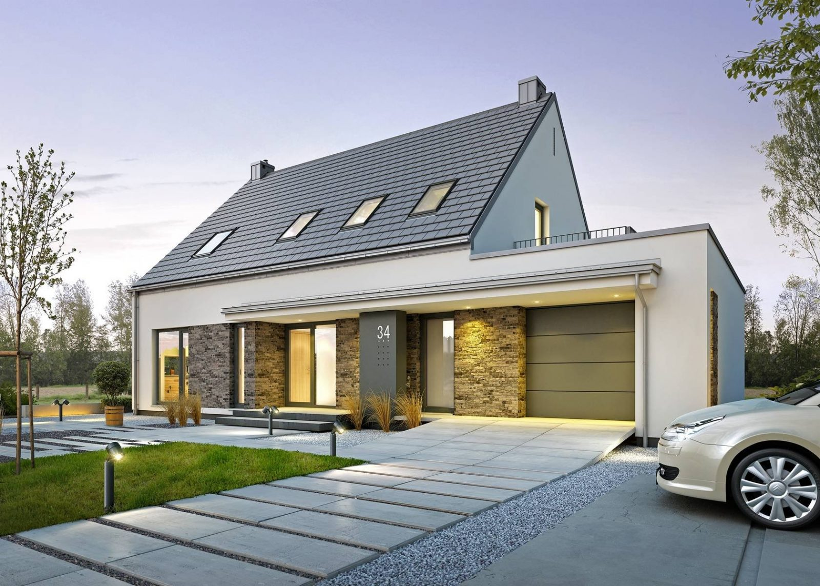 Проекты домов с гаражом: их особенности и варианты, этапы строительства и рекомендации по обустройству