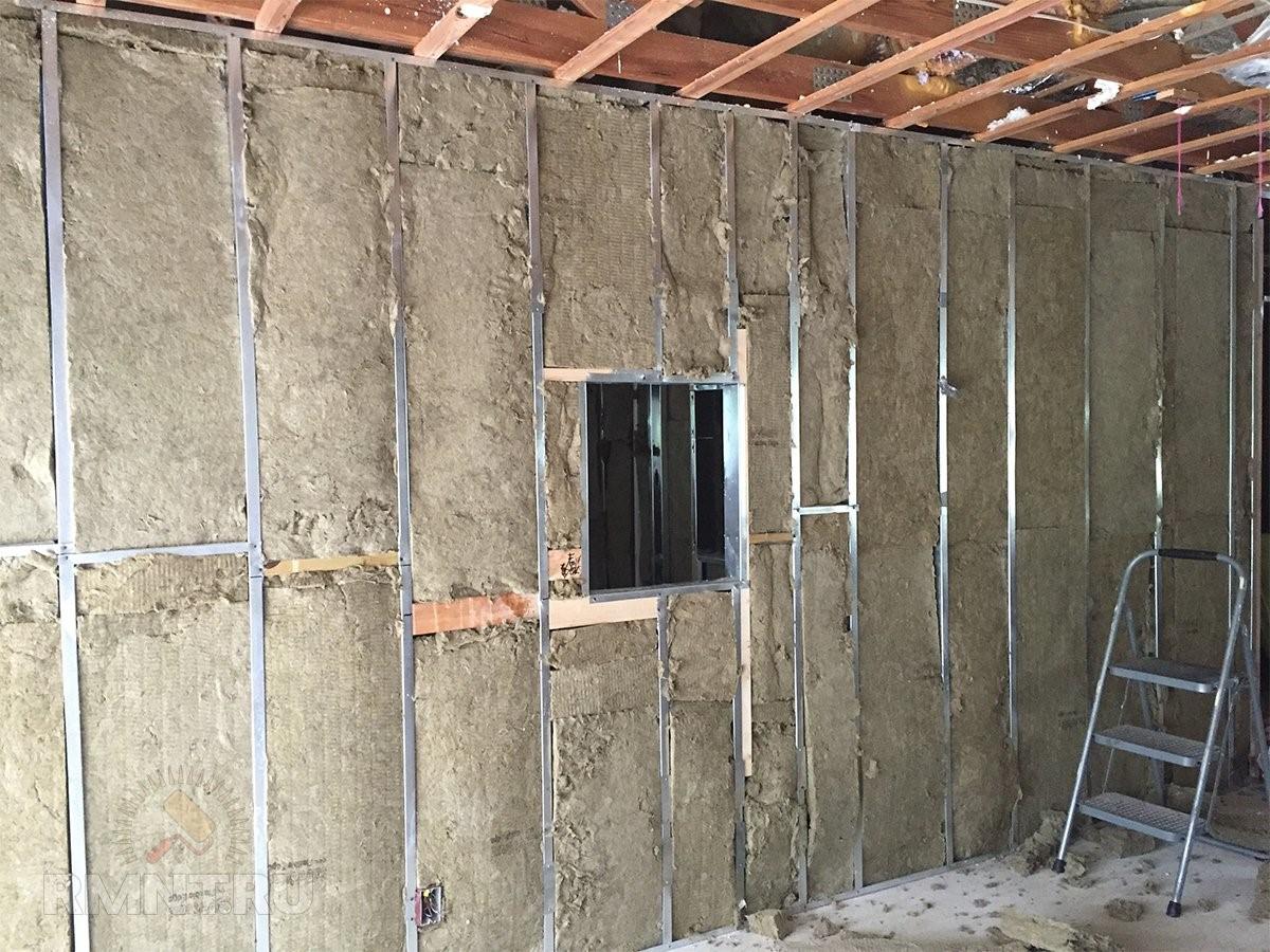 Как утеплить стену в квартире изнутри - выбор материала и способ монтажа