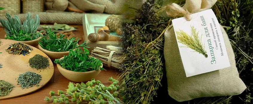 Отвары для бани и настои лекарственных трав