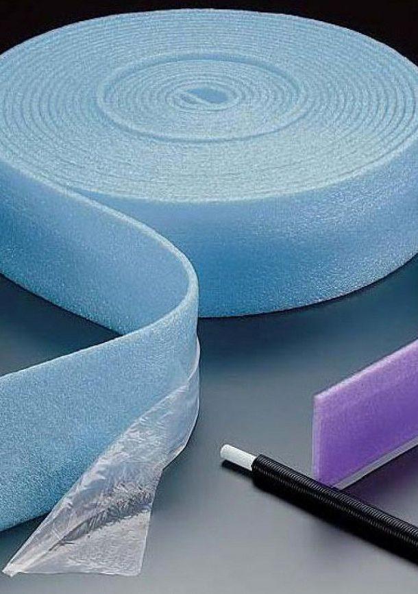 Производители демпферной ленты - типы и различия демпферной ленты | стройсоветы