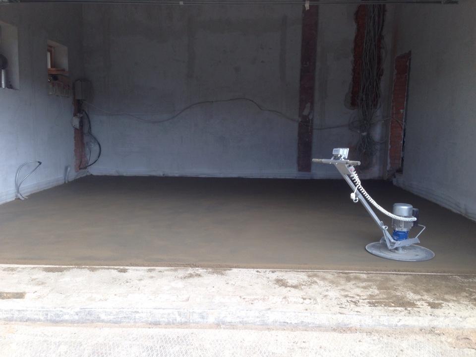 Вес цементно-песчаной стяжки, подсчет необходимого количества