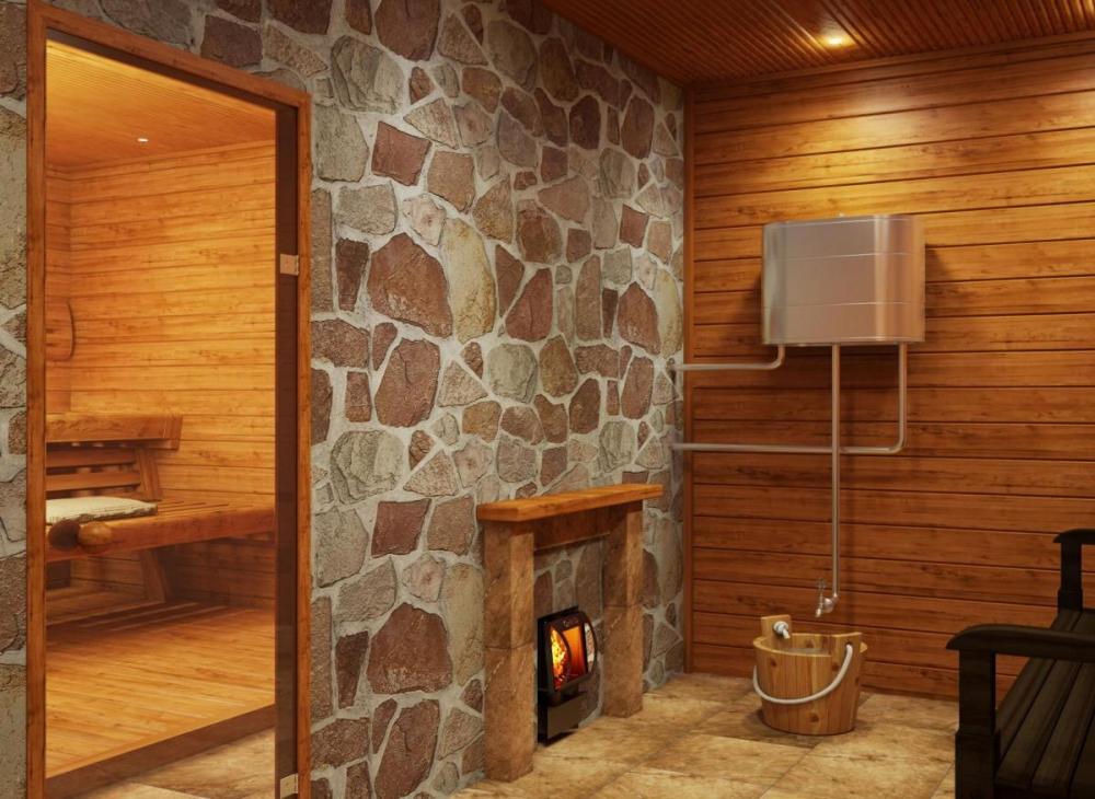 Отделка печи в бане своими руками: выбор материала, пошаговая инструкция