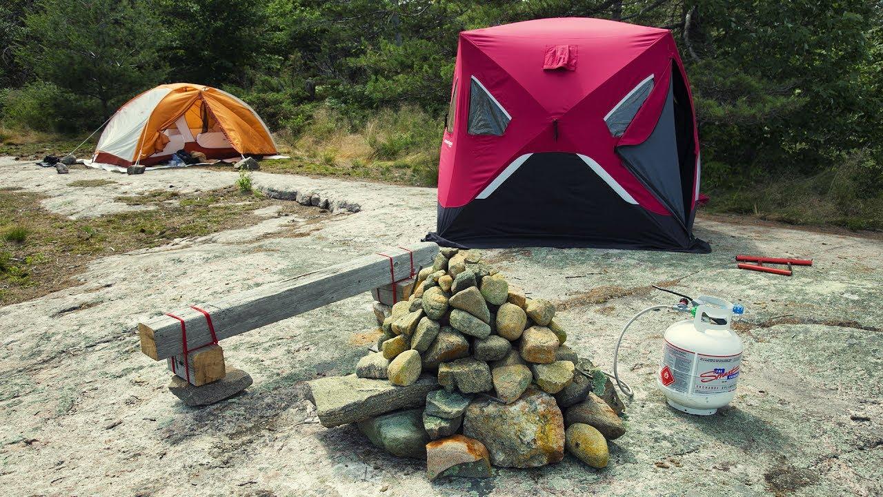 Походная баня: как сделать из палатки и полиэтилена своими руками (видео, фото, выкройки и чертежи)