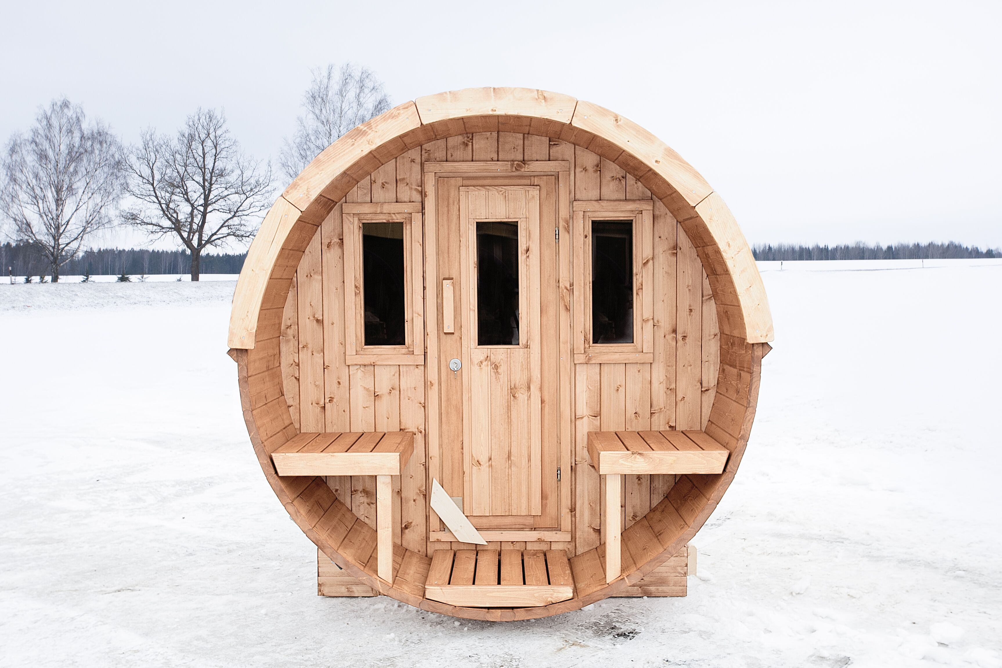 Баня-бочка (53 фото): как построить своими руками - happymodern.ru