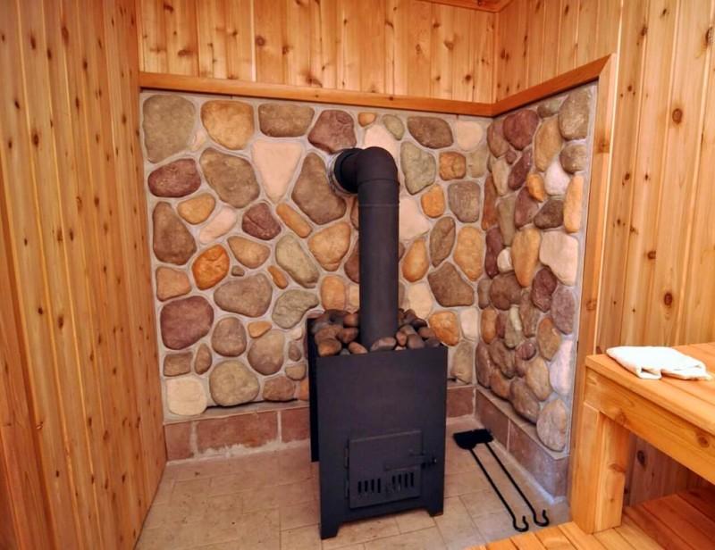Печь для бани и отопления дома одновременно