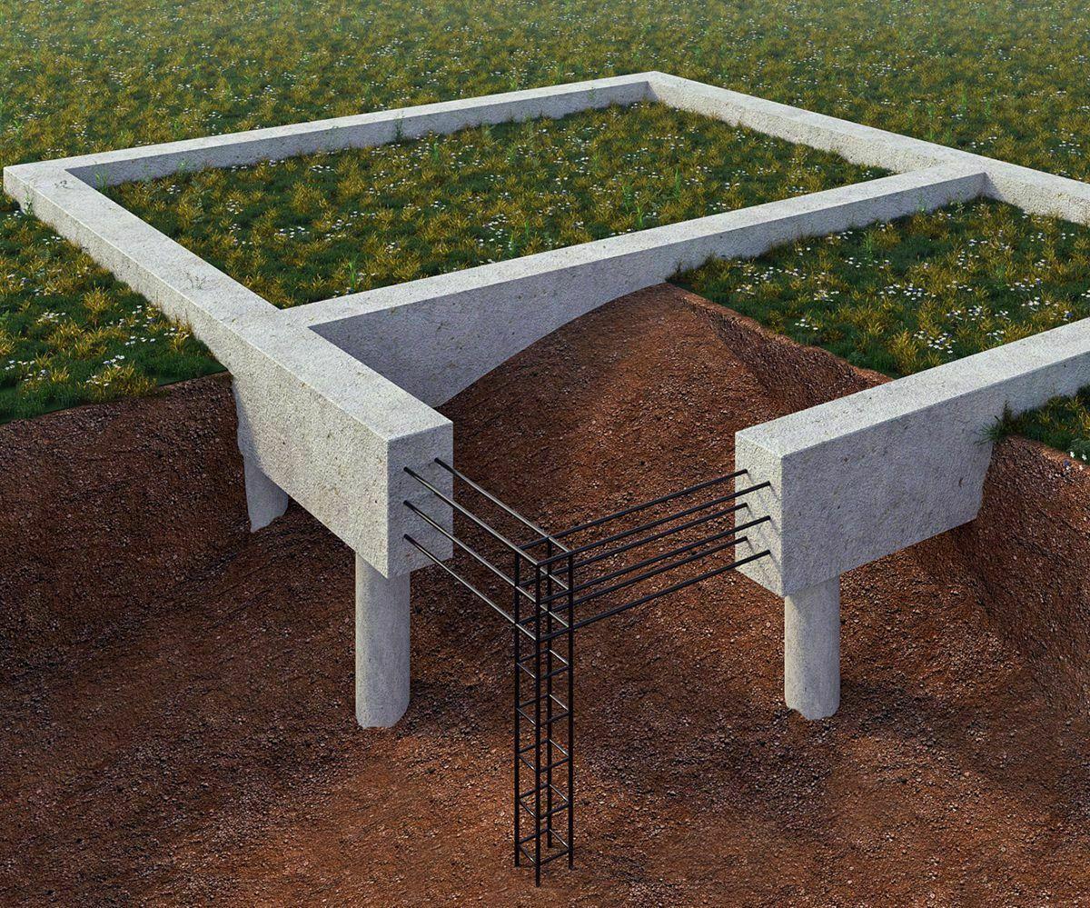 Технология возведения свайно-ростверковых фундаментов
