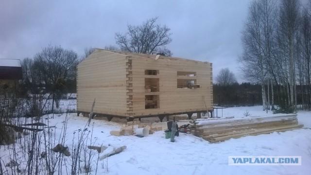 Баня из бруса: советы по постройке и размещению на участке разных типов бань (125 фото)