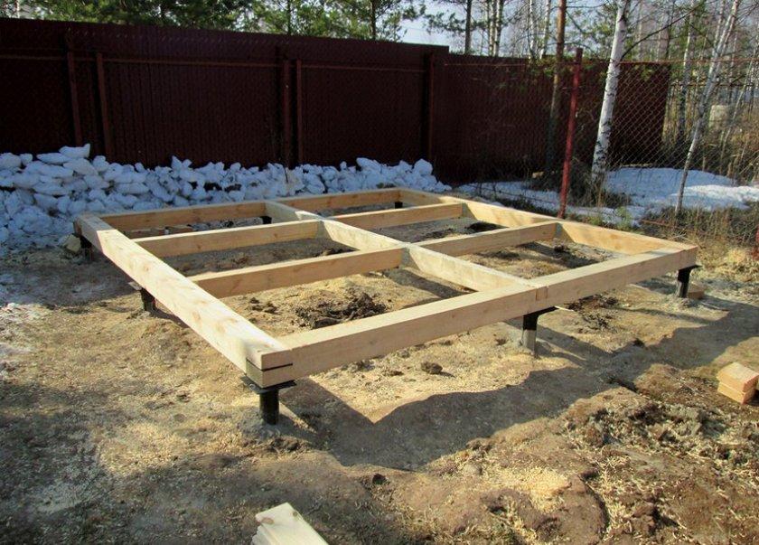 Свайный фундамент: преимущества, недостатки, виды. баня на свайном фундаменте своими руками | построить баню ру