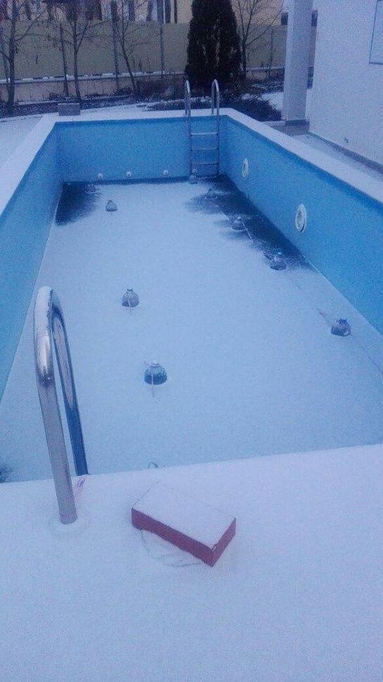 Подготовка каркасного бассейна к зиме