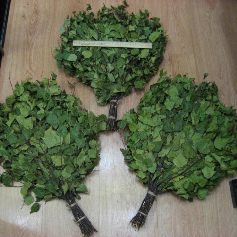 Как делать березовые веники для бани?