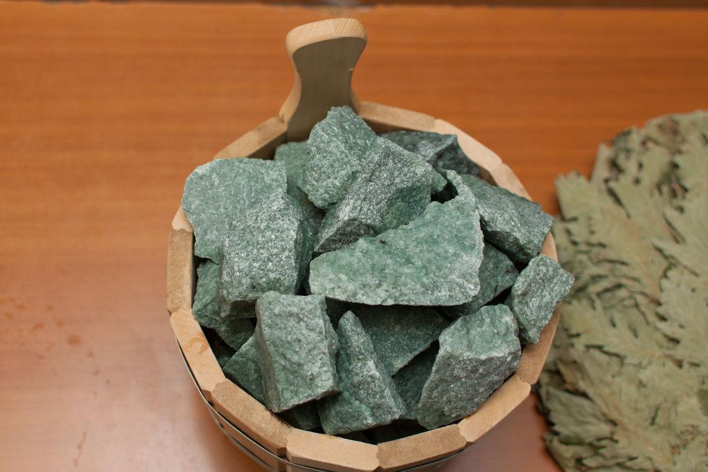 Жадеит - камень для бани и сауны