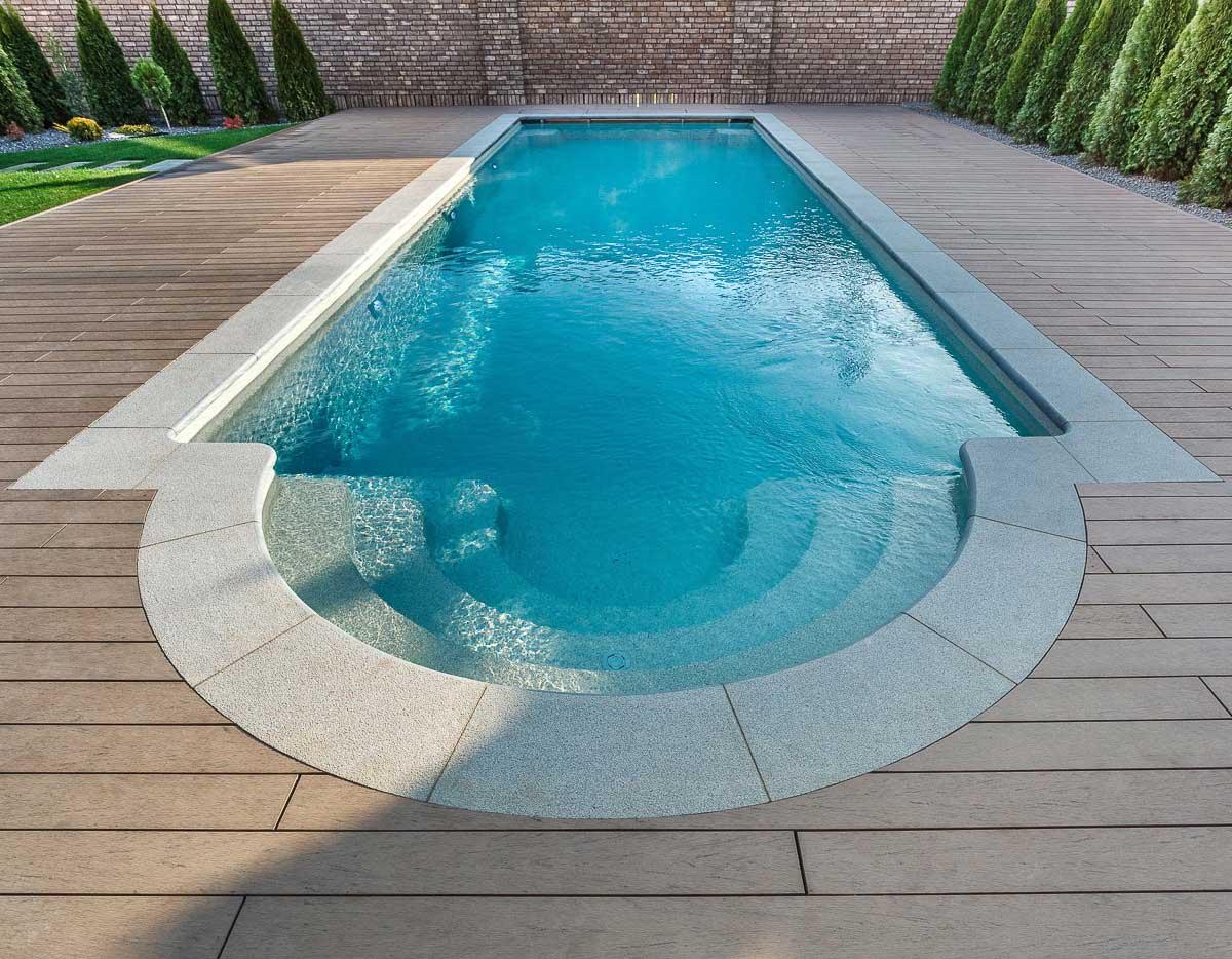 Композитный бассейн – инновационный искусственный водоём, дарящий райское наслаждение!