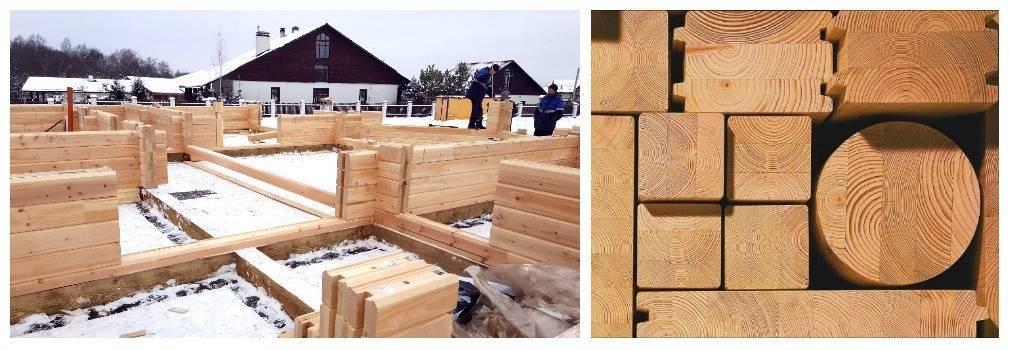 Профилированный брус: плюсы и минусы. строительство домов из профилированного бруса