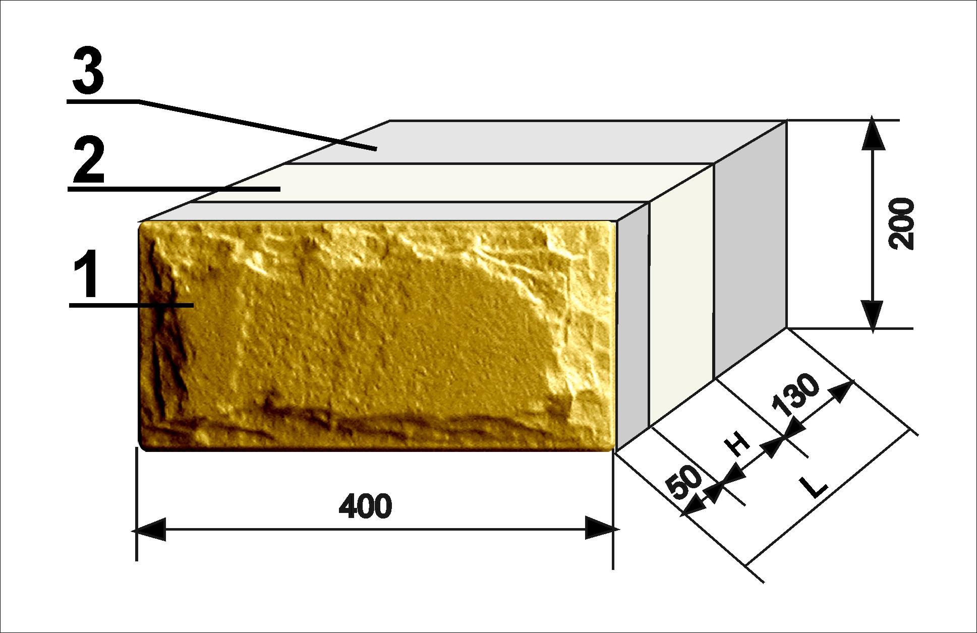 Многослойные стеновые блоки. стеновые блоки с облицовкой и утеплителем для строительства