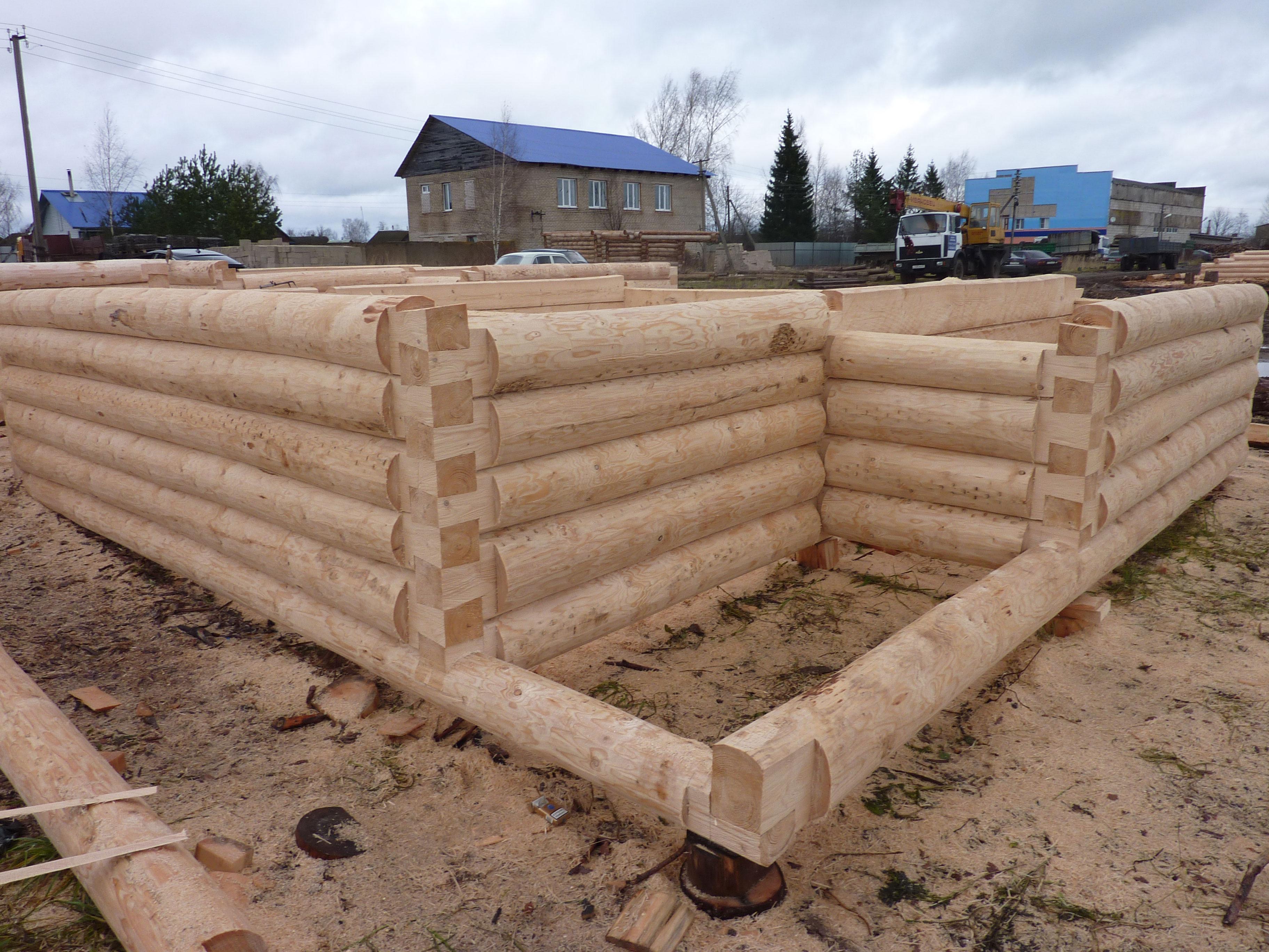 Рубленная баня своими руками: основы   o-builder.ru