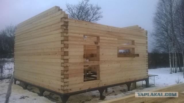 Баня из бруса: особенности постройки