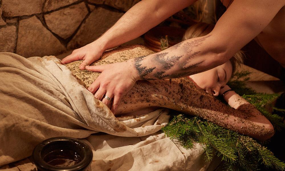 Принципы проведения массажа в бане