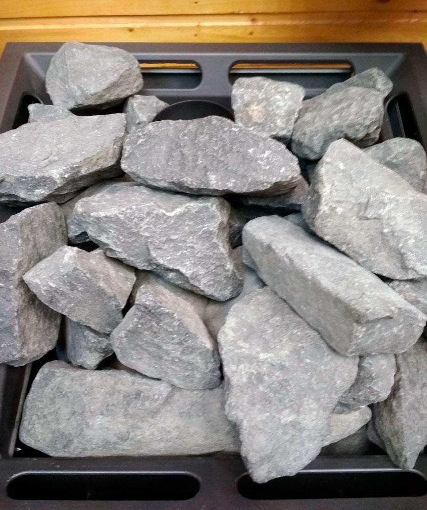 Камни для бани - какие лучше выбрать для парилки по свойствам, размерам и стоимости