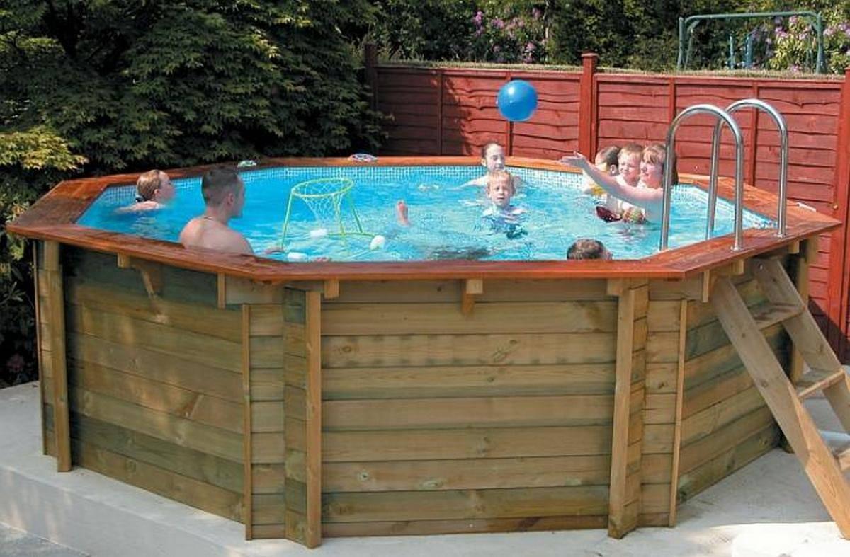 Деревянный бассейн своими руками - блог о ремонте