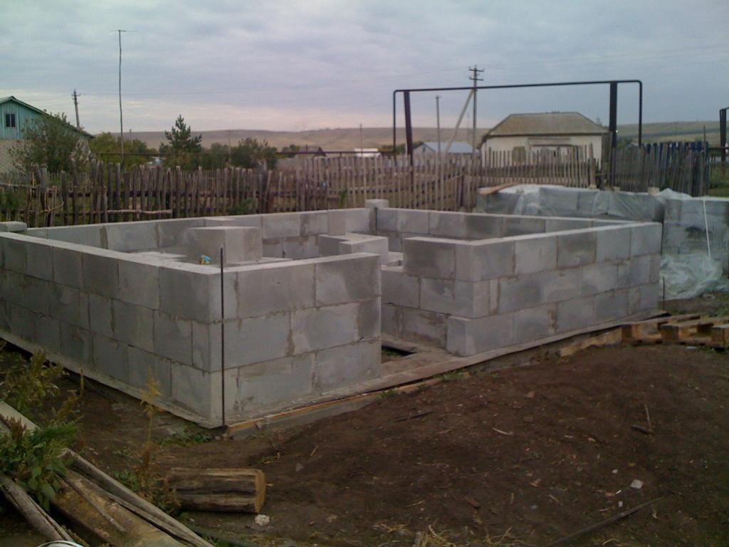 Баня из керамзитобетонных блоков: плюсы и минусы, как построить