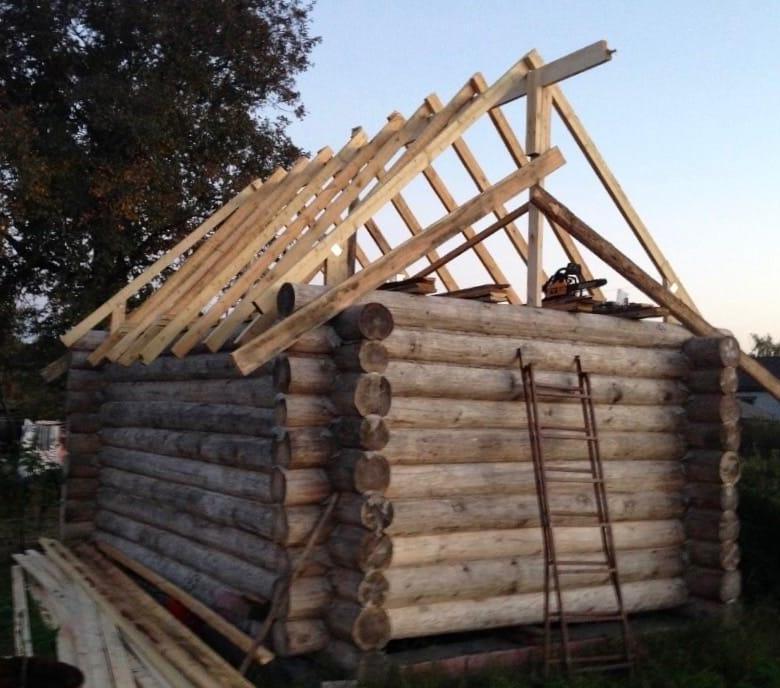 Как делать крышу бани - порядок строительства
