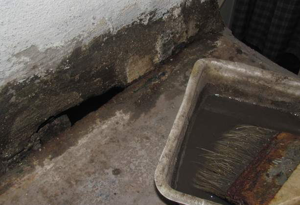 Чем заделать щели в печи и выполнить ее ремонт