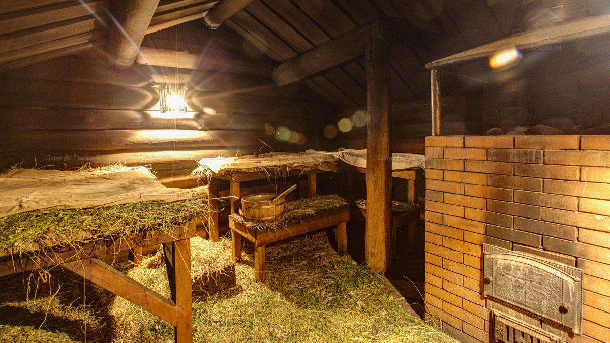 Деревенская баня: царский отдых в русской деревне