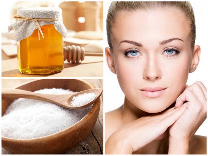 Маски для лица и тела из меда в бане