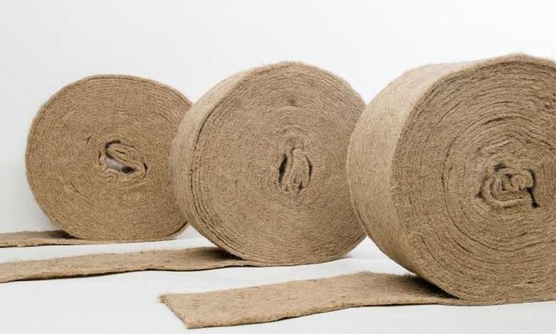 Джутовая ткань — натуральный материал технического или декоративного назначения