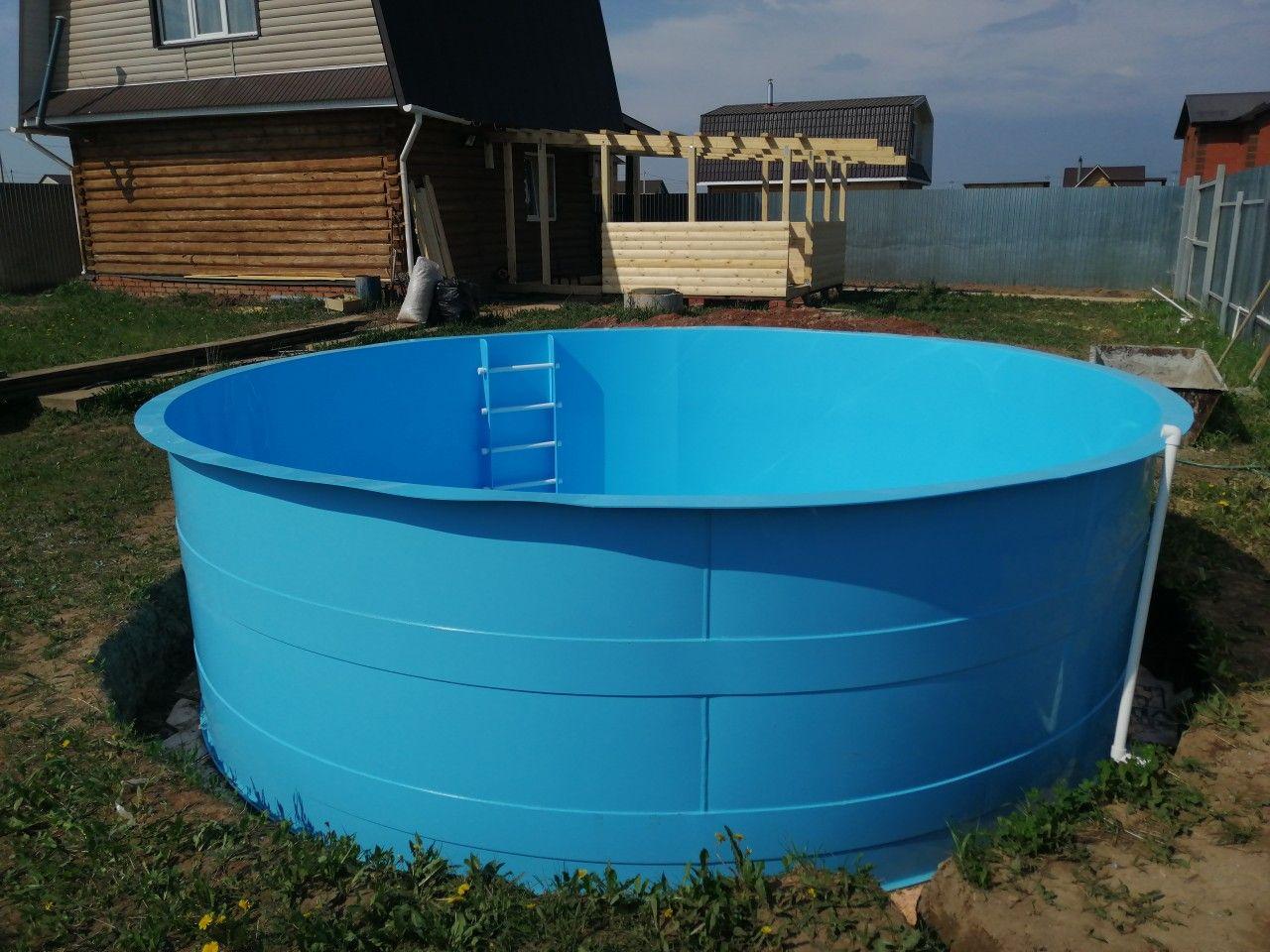 Пластиковый бассейн для дачи: виды, характеристики и монтаж с видео