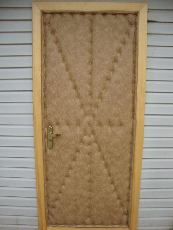Как  и чем утеплить дверь в бане: пошаговое руководство