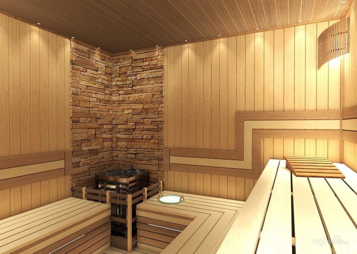 Интерьер бани: виды и стили +75 фото дизайна внутри