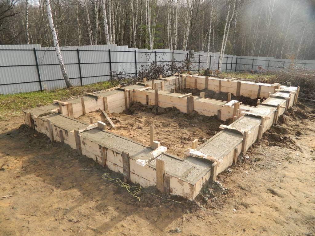 Строительство фундамента для бани своими руками – свой дом мечты