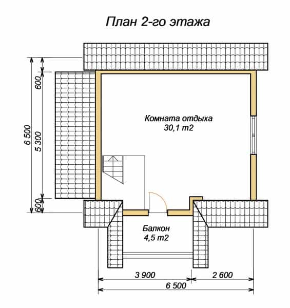 Нюансы при планировки бани 6х6, 4х6, 3х6: зонирование пространства и выбор подходящих материалов