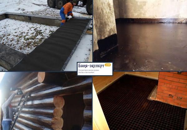 Утепляем бетонный пол в бане