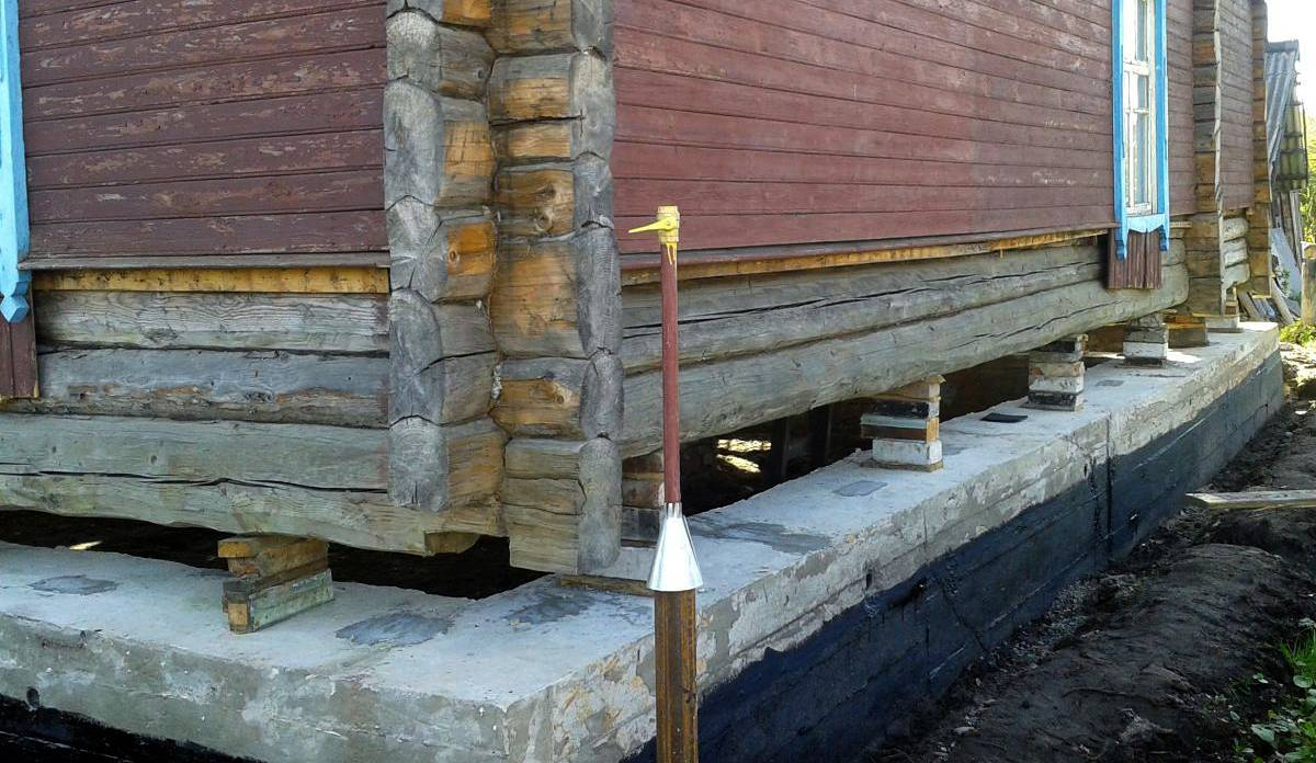Баня без фундамента своими руками: как построить, на что поставить